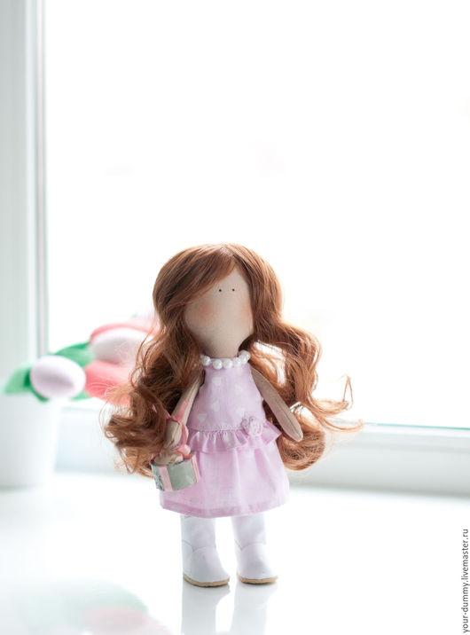 Коллекционные куклы ручной работы. Ярмарка Мастеров - ручная работа. Купить кукла Эзабель (одежда сьемная). Handmade. Розовый