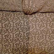 Материалы для творчества handmade. Livemaster - original item the linen fabric knitted