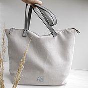 Shopper handmade. Livemaster - original item Copy of Autumn women's shopper bag with embroidery with short handles. Handmade.
