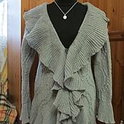 """Одежда ручной работы. Ярмарка Мастеров - ручная работа Кардиган """"Серебро"""". Handmade."""