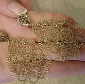 Украшения ручной работы. Ярмарка Мастеров - ручная работа Golden  nodules. Handmade.