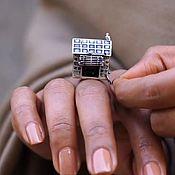 Украшения handmade. Livemaster - original item Ring Hut silver 925. Handmade.