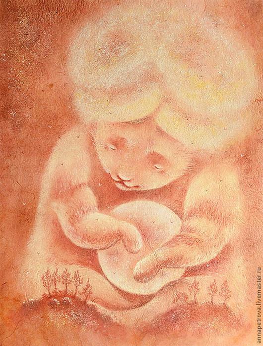 Картина медведь - шаман