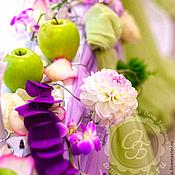 Свадебный салон ручной работы. Ярмарка Мастеров - ручная работа Оформление осенней свадьбы в лавандовых тонах. Handmade.