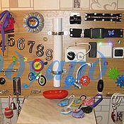 """Куклы и игрушки ручной работы. Ярмарка Мастеров - ручная работа Настенный развивающий модуль """"Сказка"""", """"Универсальный"""". Handmade."""