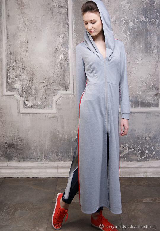 Заказать Платье с лампасами в спортивном стиле 1d5bf45b62a0e