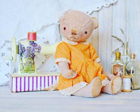 Мишки Тедди ручной работы. Ярмарка Мастеров - ручная работа. Купить Холли. Handmade. Мишка тедди, плюш винтажный