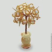 Цветы и флористика handmade. Livemaster - original item Miniature tree of moonstone`s