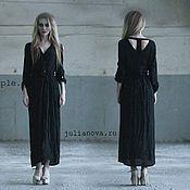 Одежда ручной работы. Ярмарка Мастеров - ручная работа Черное платье. Handmade.