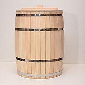 Бондарные изделия ручной работы. Ярмарка Мастеров - ручная работа Бочка деревянная 150 литров. Бочка для воды. Handmade.