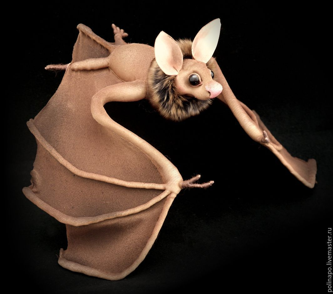 Bat, Stuffed Toys, Moscow,  Фото №1