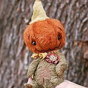 Куклы и игрушки handmade. Livemaster - original item Pumpkin from the pumpkin Fun. Teddy pumpkin. Handmade.