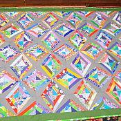 """Для дома и интерьера ручной работы. Ярмарка Мастеров - ручная работа Лоскутное покрывало """" Виктория"""". Handmade."""