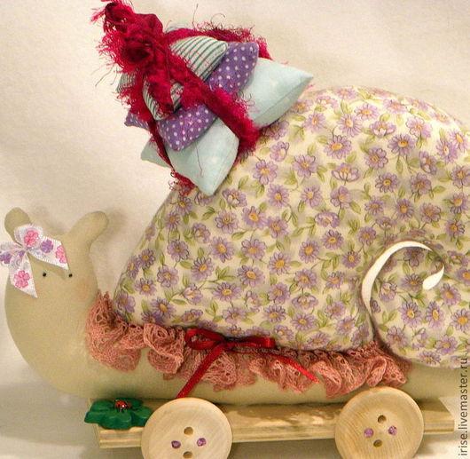 Куклы Тильды ручной работы. Ярмарка Мастеров - ручная работа. Купить Улитка-Тильда Невеста с приданным. Handmade. Тильда