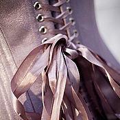 """Одежда ручной работы. Ярмарка Мастеров - ручная работа Корсет """"Violet moon"""". Handmade."""