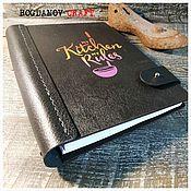 Канцелярские товары handmade. Livemaster - original item Book for recording recipes