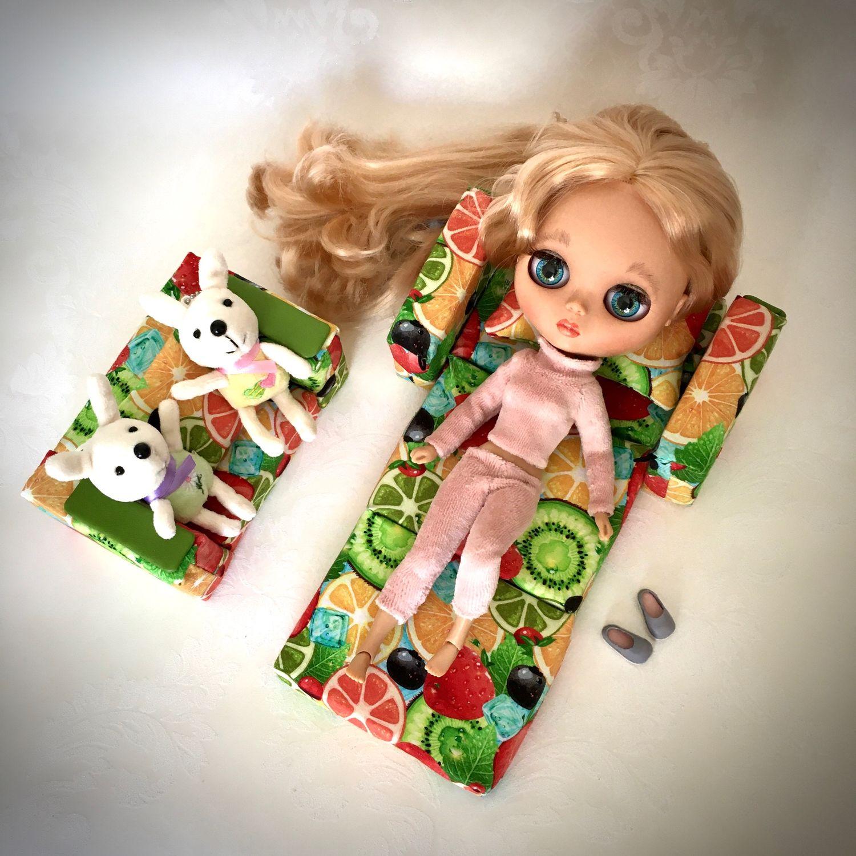 Мебель для кукол, комплект из двух кресел, Мебель для кукол, Москва,  Фото №1