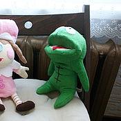 Куклы и игрушки ручной работы. Ярмарка Мастеров - ручная работа Лягушонок Клайд Сауз парк. Handmade.
