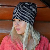 Аксессуары handmade. Livemaster - original item hat beanie jersey. Handmade.