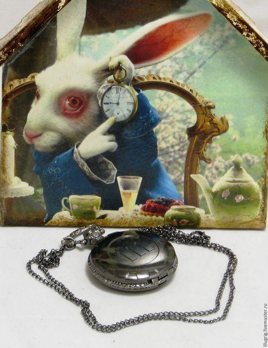 """Часы ручной работы. Ярмарка Мастеров - ручная работа. Купить Карманные часы """"Fallout 4 (чёрные)"""". Handmade. Часы"""
