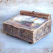 Для дома и интерьера handmade. Livemaster - original item Table-top Desk for papers