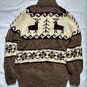 Одежда handmade. Livemaster - original item Sweater made of sheep wool.Big size. Handmade.