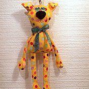 Куклы и игрушки ручной работы. Ярмарка Мастеров - ручная работа Собачка - подвеска , брелок :). Handmade.