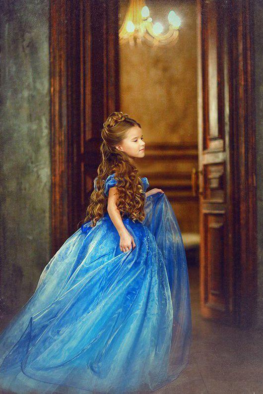 Одежда для девочек, ручной работы. Ярмарка Мастеров - ручная работа. Купить Платье Золушка. Handmade. Платье, фотосессия, пышное платье