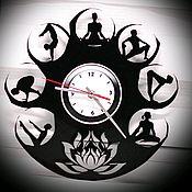 "Для дома и интерьера handmade. Livemaster - original item Wall clock ""flight"". Handmade."