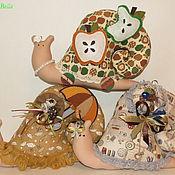 Куклы и игрушки ручной работы. Ярмарка Мастеров - ручная работа Улитки Тильда.. Handmade.