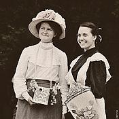 Одежда ручной работы. Ярмарка Мастеров - ручная работа Блузка исторического кроя. Handmade.