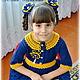 Одежда для девочек, ручной работы. Платье крючком, вязаное платье, платье для девочки. Pay_tinka 'Magic HandMade'. Ярмарка Мастеров.