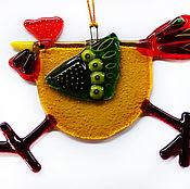 Подарки к праздникам ручной работы. Ярмарка Мастеров - ручная работа Петушок-символ 2017 года,ёлочная игрушка.. Handmade.