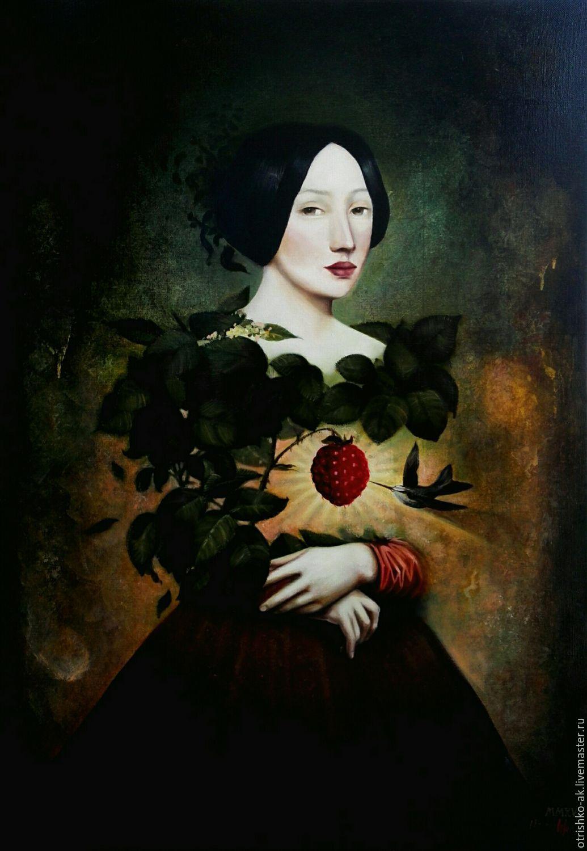картина маслом. Любимая женщина, Картины, Новосибирск,  Фото №1