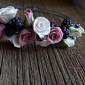 Украшения ручной работы. Ярмарка Мастеров - ручная работа Ежевика и розы. Handmade.