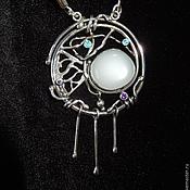 Украшения handmade. Livemaster - original item Pendant charm silver