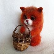 Куклы и игрушки ручной работы. Ярмарка Мастеров - ручная работа Валяная игрушка  Бельчонок  Яша. Handmade.