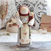 "кукла Для Купцов ""Старый бордовый""."
