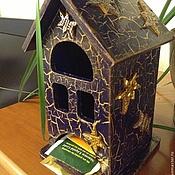 """Для дома и интерьера ручной работы. Ярмарка Мастеров - ручная работа Чайный домик """"Лунная ночь"""". Handmade."""