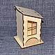 ЧД-10-002. Чайный домик с окошком.
