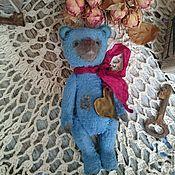 """Куклы и игрушки ручной работы. Ярмарка Мастеров - ручная работа Мишка Тедди 14см """"Моё сердце для тебя"""". Handmade."""
