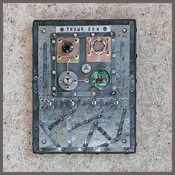 Ключница стимпанк, Ключницы настенные, Москва,  Фото №1