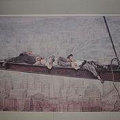 Дизайн и реклама ручной работы. Ярмарка Мастеров - ручная работа Роспись стены. Handmade.