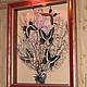 Животные ручной работы. Ярмарка Мастеров - ручная работа. Купить Дерево жизни. Handmade. Картина, хоровод, крылья, тропики, клей