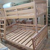 Кровати ручной работы. Ярмарка Мастеров - ручная работа Двухъярусная кровать. Handmade.