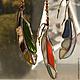 Элементы интерьера ручной работы. Ярмарка Мастеров - ручная работа. Купить Интерьерная подвеска Ловец солнца из стекла тиффани. Handmade.