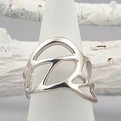 """Украшения handmade. Livemaster - original item Ring """"Lava"""" (silver). Handmade."""