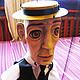 Коллекционные куклы ручной работы. Заказать Марионетка Бастера Китона. Мастерская кукол  тел. 8 9036189838. Ярмарка Мастеров.