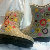 """Обувь ручной работы. Ярмарка Мастеров - ручная работа Валенки """"Карнавал"""". Handmade."""