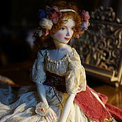 Куклы и игрушки ручной работы. Ярмарка Мастеров - ручная работа Маришка. Подвижная кукла из фарфора. Handmade.